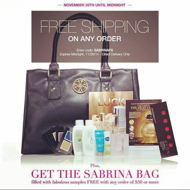 sabrina bag free